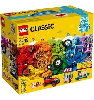 Lego Classic - Ladrillos Sobre Ruedas