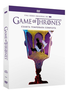 Game Of Thrones Juego Tronos Temporada 4 Nueva Edicion Dvd