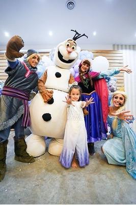 Animaciones Infantiles Frozen Sirenita Moana Rapunzel Show