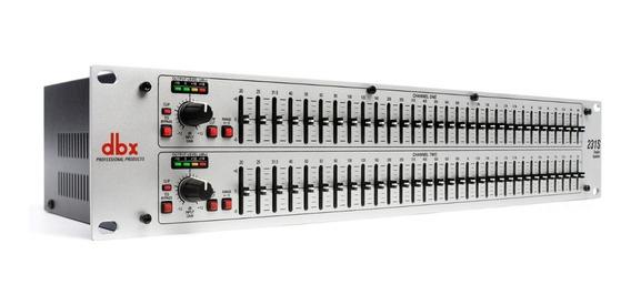 Equalizador Dbx 231s Stéreo 31 Bandas 2 Canais Bivolt