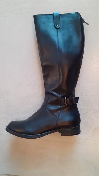 Botas Caña Alta Color Negro N*6,5 (36½)