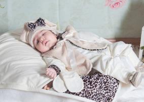 Kit Saída De Maternidade / Hospital Oncinha Palha Menina