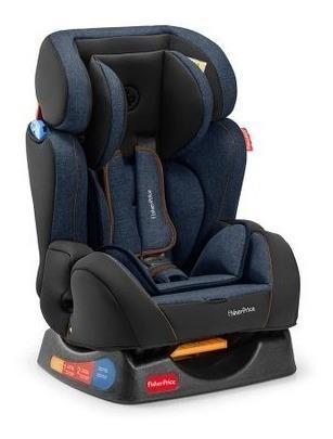 Cadeira P/ Auto Fischer Price Hug Azul Reclinável (29520)
