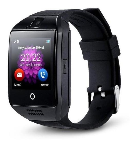 Reloj Inteligente Celular Q18 Smart Watch Pantalla Curva Sim