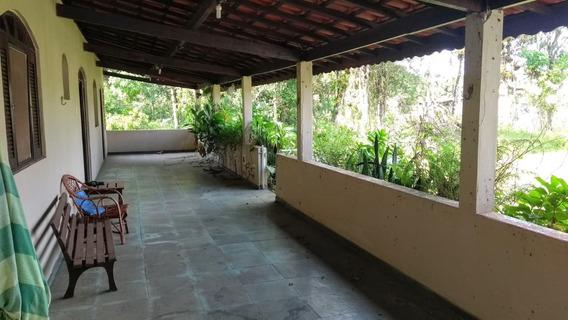 Chácara De Excelência C/ Terreno Amplo No Gaivota - Itanhaém