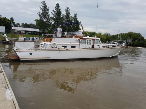 Crucero Clásico De Madera (ithurbide) 16mts 2 Perkins 165hp