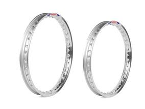 Par Aros Aluminio Polido Medidas 19x185+17x215 Nxr 150 Bros