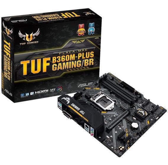 Placa Mãe Asus Tuf B360m Plus Gaming Intel 8a E 9a Geração