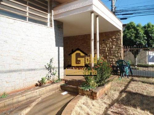 Casa Com 3 Dormitórios E 2 Banheiro No Bairro  Jardim Sumaré - Ca0567