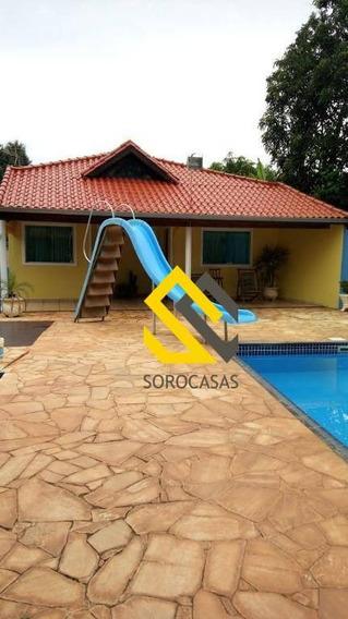 Chácara Com 4 Dormitórios À Venda, 2400 M² Por R$ 550.000 - Chácara Recanto Feliz - Iperó/são Paulo - Ch0029