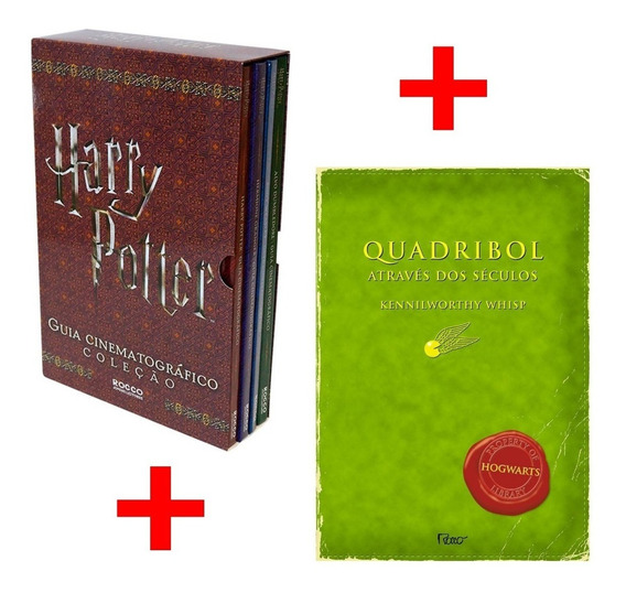 Harry Potter Guia Cinematografico + Livro Quadribol Lacrados
