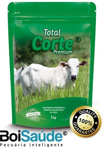 Total Corte Premium Núcleo Vitamínico Para Gado De Corte 5kg