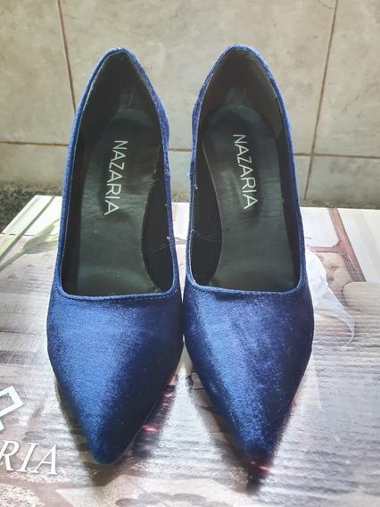 Nazaria Zapatos De Pana Azul