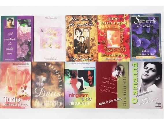 Kit 10 Livros Zibia Gasparetto (romance Espírita)