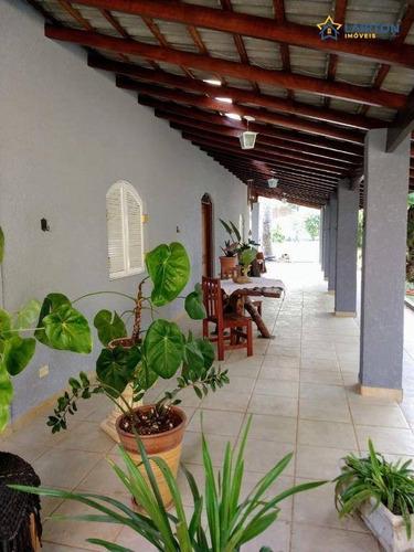 Chácara Com 3 Dormitórios À Venda, 1000 M² Por R$ 750.000 - Jardim Estância Brasil - Atibaia/sp - Ch1425