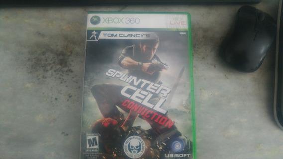 Splinter Cell Conviction - Xbox 360/one - Midia Fisica