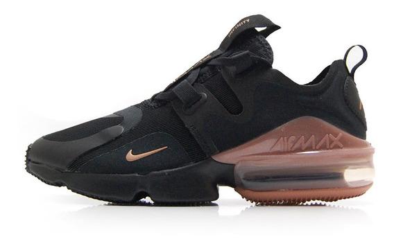 Tenis Nike Air Max Infinity Negro/cafe Bq4284-001 Nk0362