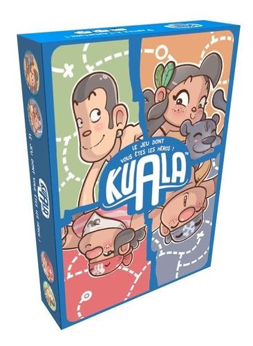Jogo De Tabuleiro Kuala Board Game Grok Infantil Livro