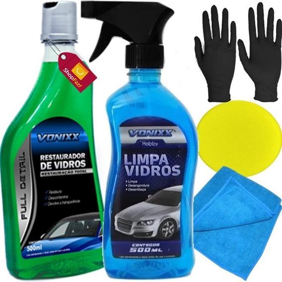 Removedor De Chuva Ácida Tira Mancha Vidro Automotivo Vonixx