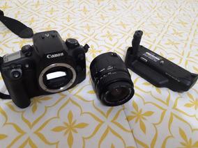 Canon Eos 30 + Lente 28 80mm + Battery Pack - 12x Sem Juros