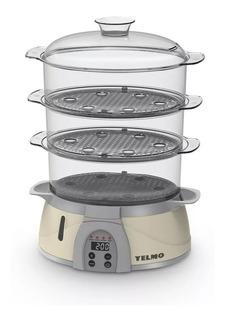 Vaporera Con Control Digital Yelmo Vp-560 900w .