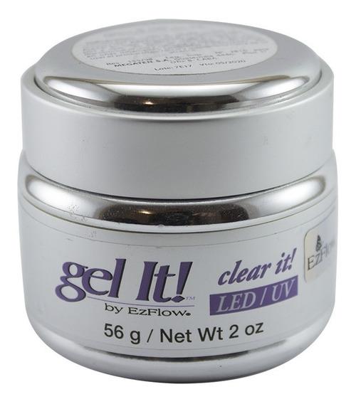 Gel Uv Led Clear It Ezflow Transparente Gel It X 56 Gr