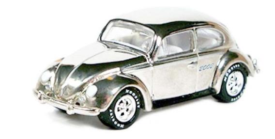 Johnny Lightning Volkswagen Beetle Rueda De Goma Solo Envios