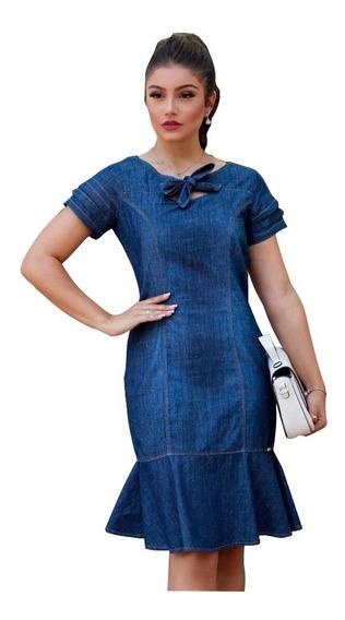 Vestido Feminino Delicado- Roupas Jeans (ref:1078)