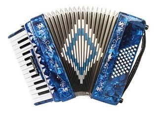 Rossetti Piano Acordeon 48 Bajos 16 Llaves 3 Interruptores A