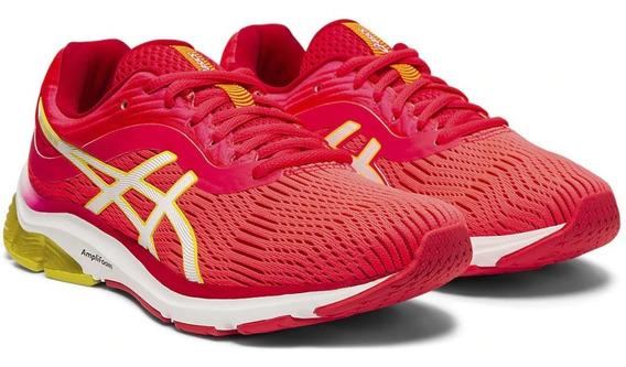Zapatilla Asics Gel Pulse 11 Running Mujer Coral Fluor