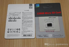 Cartão Micro Sdxc Pro 30mb/s 128gb Frete 10 Reai R$