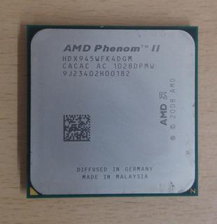Amd Phenom Ii X4 945 | 4 Nucleos | 3.0 Ghz | Am2+ / Am3