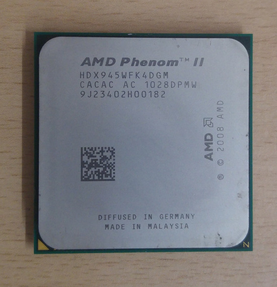 Amd Phenom Ii X4 945 | 4 Nucleos | 3.0 Ghz | Am2+ / Am3