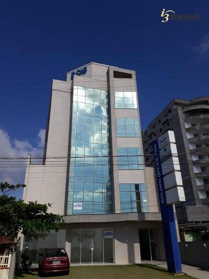 Golden Office - Sala Comercial A Venda No Gravatá Em Navegantes De Frente Para O Mar - Sa0124