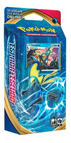 Card Game Pokémon Tcg Starter Deck Espada Escudo Inteleon