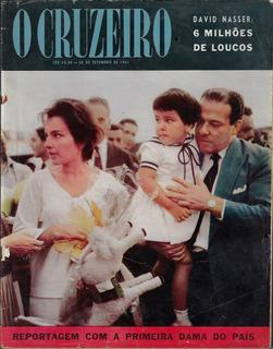 1961 Revista O Cruzeiro Ano 33 Nº 51 Capa Pres. João Goulart