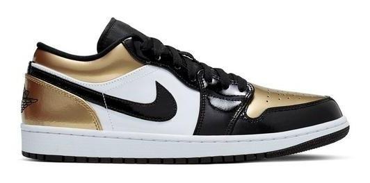 Nike Air Jordan 1 Low Gold Toe Importación Mariscal