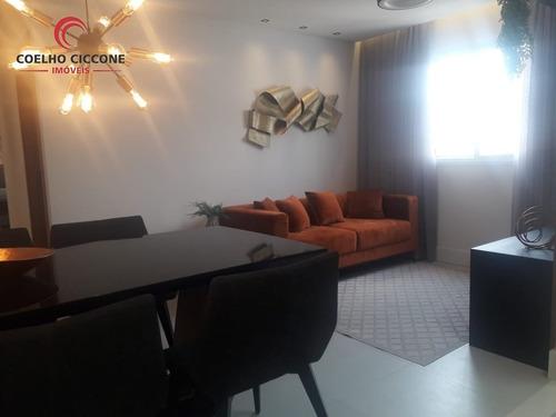 Imagem 1 de 15 de Apartamento A Venda - Novo - - V-4589
