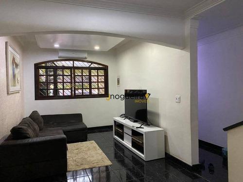 Sobrado Com 3 Dormitórios À Venda, 185 M² Por R$ 650.000,00 - Jardim Três Marias - São Paulo/sp - So0397