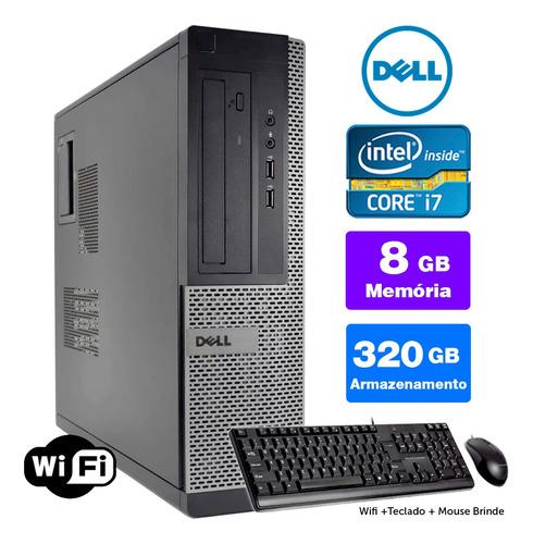 Desktop Barato Dell Optiplex Int I7 2g 8gb 320gb Brinde