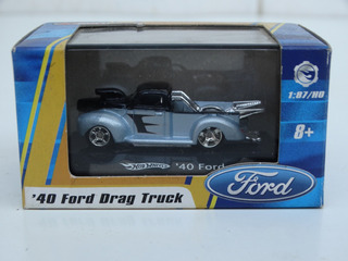 Hot Wheels Escala 1:87 - 40 Ford Pick Up - Com Caixa