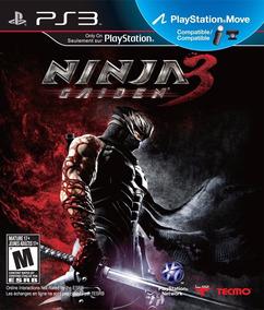 Jogo Ninja Gaiden 3 Ps3 Mídia Física, Novo E Lacrado