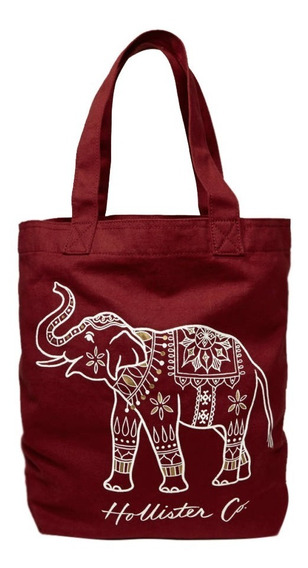 Bolsa Hollister By Abercrombie Elefante 100% Original