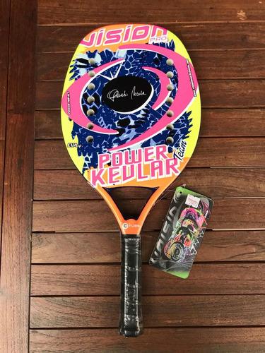 Raqueta De Beach Tennis Vision Power Kevlar Team