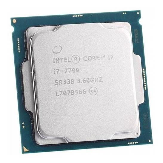 Processador Intel Core i7-7700 4 núcleos 64 GB