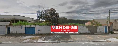 Imagem 1 de 4 de Ótimo Terreno Com 2.595m² Por R$ 2.400.000 No Chácaras Reunidas - São José Dos Campos/sp - Te0256