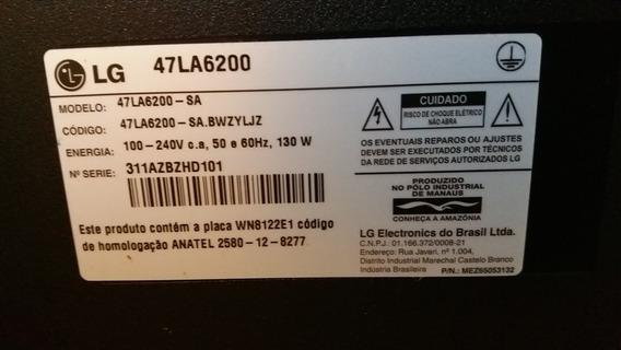 Smartv Lg 47la6200. Peças