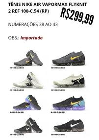 Tenis Nike Air Vapormax Flyknit 38 Ao 43