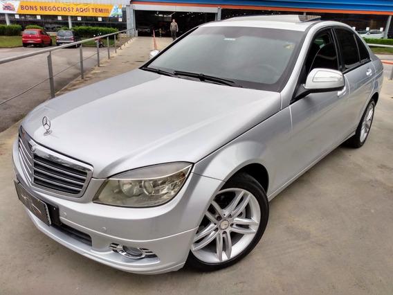 Mercedes-benz C200 K 1.8 Aut. Gasolina 2008/2008 Blindado
