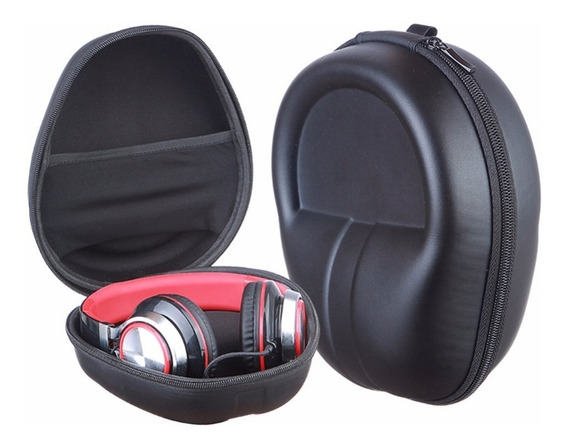 Case Capa Estojo Bag Rígido P/ Headphone Headset Resistente